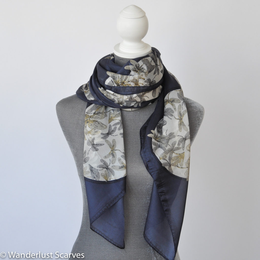 My Favourite Silk Scarf, Four Looks