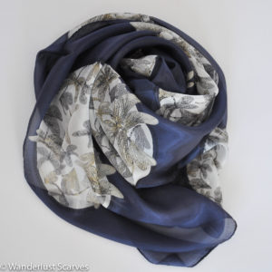 Scarves - dragonfly fine silk