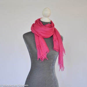 Soft as a cloud Bamboo scarf
