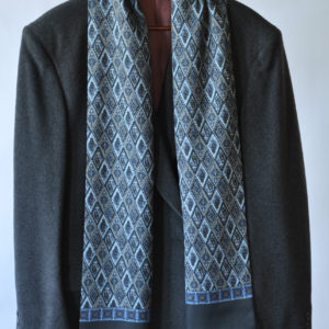 Mens Classic Silk and Cashmere Scarf
