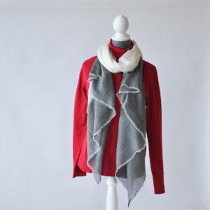 Luxurious Superfine Wool & Cashmere Scarf