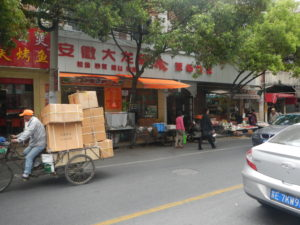 Parcel Delivery Shanghai Style