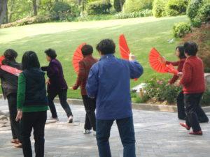 Dancing in the Park Shanghai