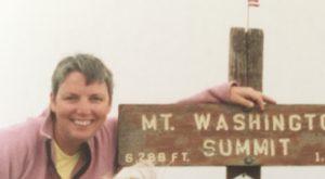 The summit Mount Washington
