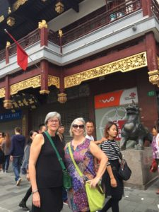 E and I in Shanghai