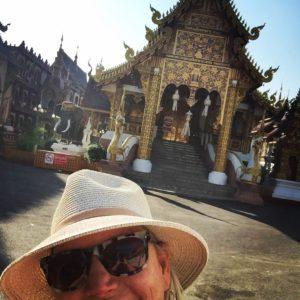 Me at Chiang Mai Temple