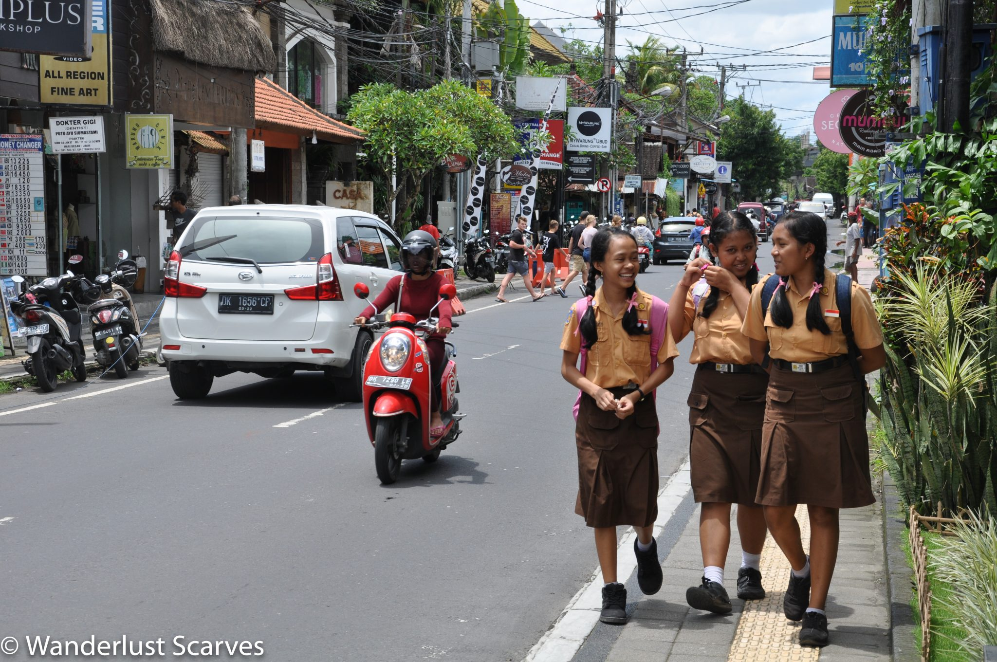 Main Street of Ubud