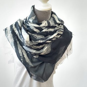The perfect summer scarf, silk and cotton