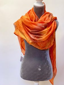 Luscious Silks orange