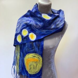 Nepalese Felted Wool Scarf