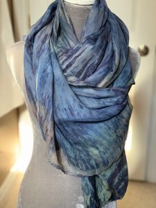 Luscious Silks Stone Blue
