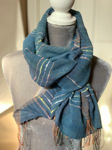 Handwoven Made in Bali Cotton Scarf