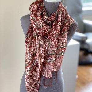 Balinese Silk Scarf